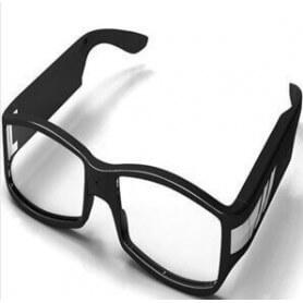 Finestra di visualizzazione della telecamera spia Full HD - Occhiali da fotocamera