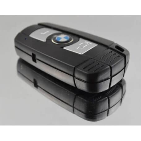Clé de voiture caméra espion HD 720p - La clé voiture espion est un dispositif fonctionnel intégrant la technolog