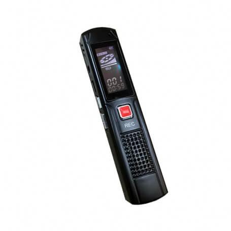 Dictaphone numérique à la fois moderne et très pratique - Dispositif léger et peu encombrant, ce dictaphone numér