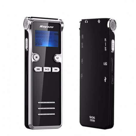 Dictaphone at the forefront of technology - This professional dictaphone has the voice control function, which makes it easier