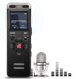 Compact portable professional digital Dictaphone - Voice recorder