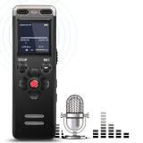 Dictaphone numérique professionnel portable compact - Dictaphone