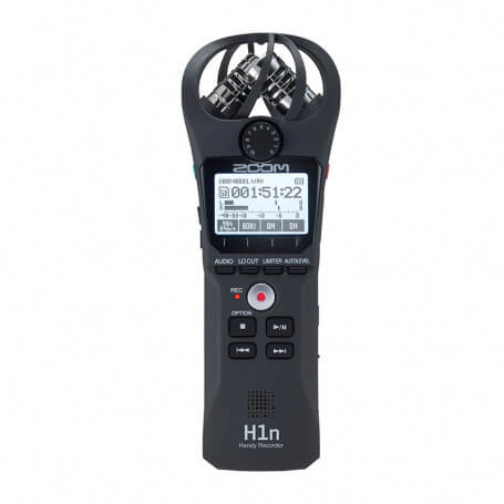 Professional digital audio recorder - Professional recorder with microphone unidirectional 90 degrees, AAA battery for long rec