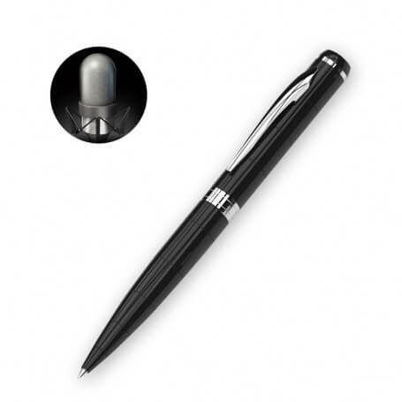 Pen micro spy with voice recorder - P11 voice recorder pen is a discreet voice recorder model, which works with a simple voice