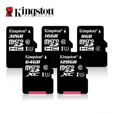 Micro SD Kingston memory card class 10 - 8 to 128 GB SD micro memory card - Cameras accessories