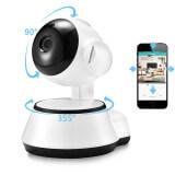 Caméra de surveillance motorisée avec capteur audio bidirectionnel - Caméra d'intérieur IP