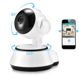 Motorised surveillance camera with two-way audio sensor - Indoor IP camera