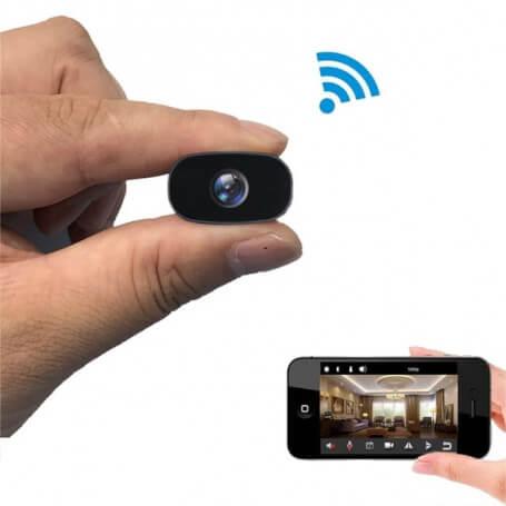 Mini cámara Full HD Wifi lente gran angular - Otra cámara espía