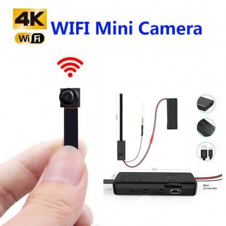 Mini caméra espion Ultra HD 4K Wifi - Autres caméra espion