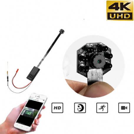 Mini 4K UHD Wifi cámara espía con sensor de movimiento y visión nocturna - Otra cámara espía