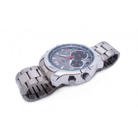 Montre caméra HD avec vision infrarouge - La montre caméra espion assume sa fonction classique de montre. Accessoire de