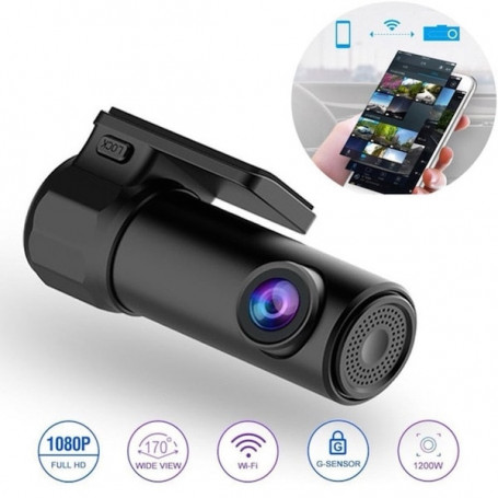 Onboard full HD WiFi DVR camera