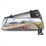 4G Full HD Rearview Mirror Dashcam Wifi GPS - Dash cam