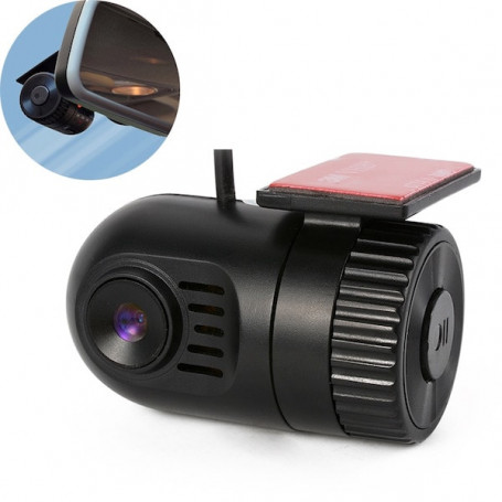Dashcam HD DVR wide angle G-sensor