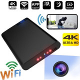 Banco de energía mini Wifi 4K Ultra HD cámara