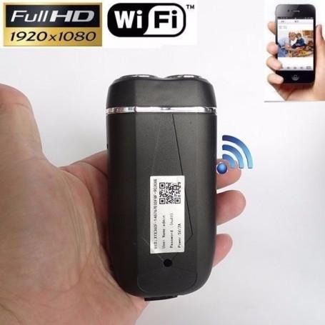 8Gb full HD WiFi spy camera electric shaver