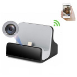 Reloading station voor iPhone met WiFi Spy camera