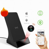 Wireless charging station full HD WiFi spy camera - Other spy camera