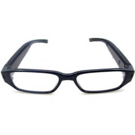 4 GB spy camera glasses - The bezel HD spy camera is an original fashion accessory. Equipped with a webcam function, it allows