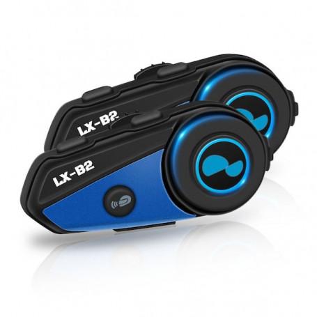 2-piece Bluetooth motorcycle intercom