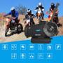 Kit main libre moto bluetooth 4.1portée 1km