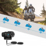Free hand Kit motorcycle Bluetooth 4.1 range 1km