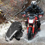 Kit bluetooth moto design étanche radio FM 1000 mètres