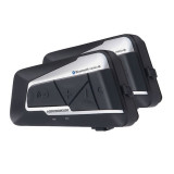 Intercom moto impermeable bluetooth 1200 metros de alta gama