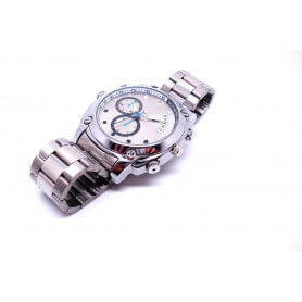 Reloj de cámara Full HD 1080p impermeable - Reloj espía