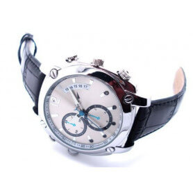 Montre caméra espion Full HD 1080P - La montre caméra espion Full HD condense les dernières technologies. Ses mul