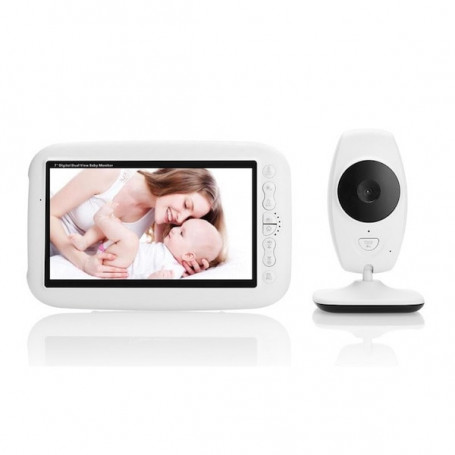 Babyphone with 720P HD wireless video camera - Babyphone video