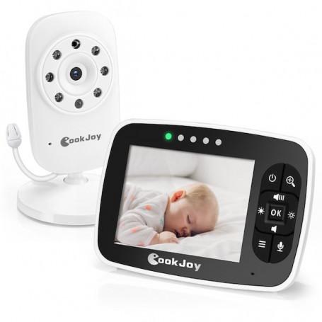 Ecoute bébé vidéo avec écran 3.5 pouces sans fil