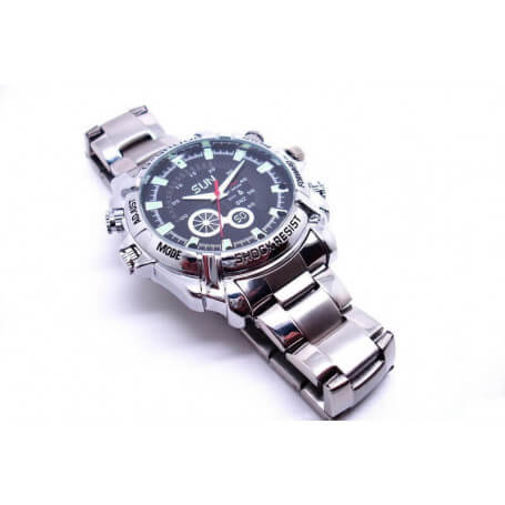 Montre caméra espion Full HD - Notre montre caméra espion combine élégance et perfection. Grâce &agr