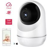 Babyphone con cámara conectada Full HD Wifi