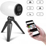 Cámara wifi Babyphone, monitor inalámbrico portátil