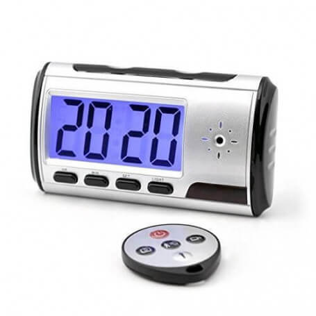 Spy Awakening 2.000.000 pixels - Spy camera alarm klok