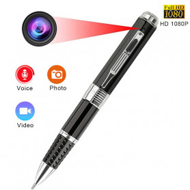 HD 1080P spy camera pen