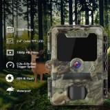 Cámara de combate Full HD 30MP con LED infrarrojos invisibles
