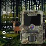 Caméra de chasse FULL HD 30MP avec leds infrarouges invisible