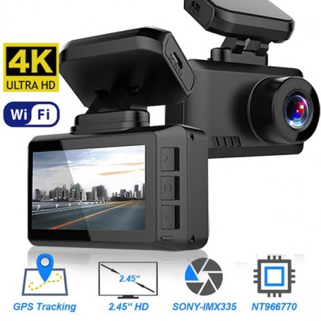 Dashcam DVR GPS 4K Ultra HD wifi - 1