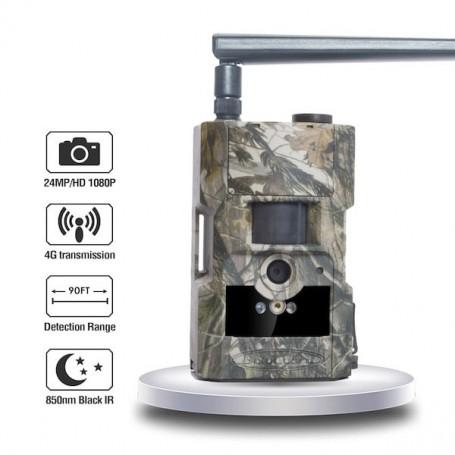 4G 24MP SMS MMS gevechtscamera met infrarood - 1