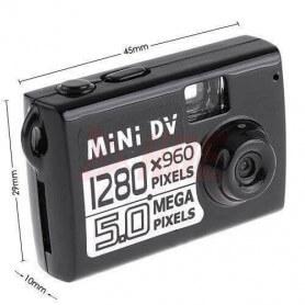 Mini caméra espion avec fonction webcam - Cettemicro caméra numérique espion fonction webcamest un ac
