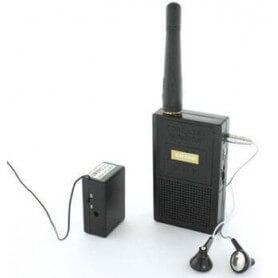 Micrófono espía inalámbrico de larga distancia - Grabadora de micro espías