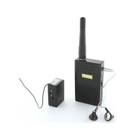 Long distance wireless spy microphone - Micro spy recorder