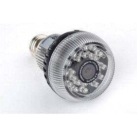 Ampoule camera espion vision infrarouge Wifi - Ampoule caméra
