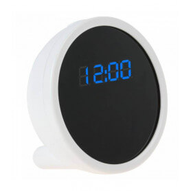 Camera spy clock 720 p Wifi - This spy camera alarm clock is a device indispensable and reliable. The wifi feature ensures comf