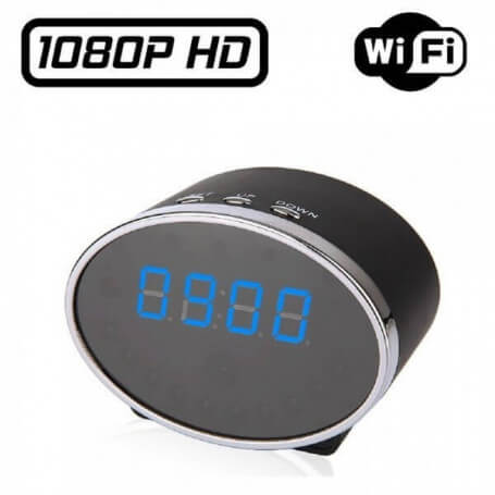 Spy alarm IP Wifi 5 million pixels - Spy camera clock