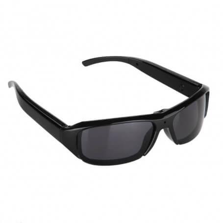 Lunettes de soleil avec mini caméra - Cette lunette caméra HD est adaptée pour les activités d'espio