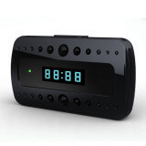 Alarm clock spy camera HD - Spy camera clock