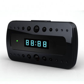 HD Spy camera alarm klok - Spy camera alarm klok